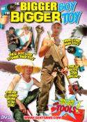 Grossansicht : Cover : The bigger the boy the bigger the toy